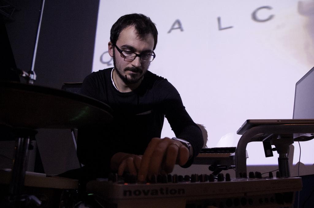 Tommaso Rosati Live electronics Baraka 06
