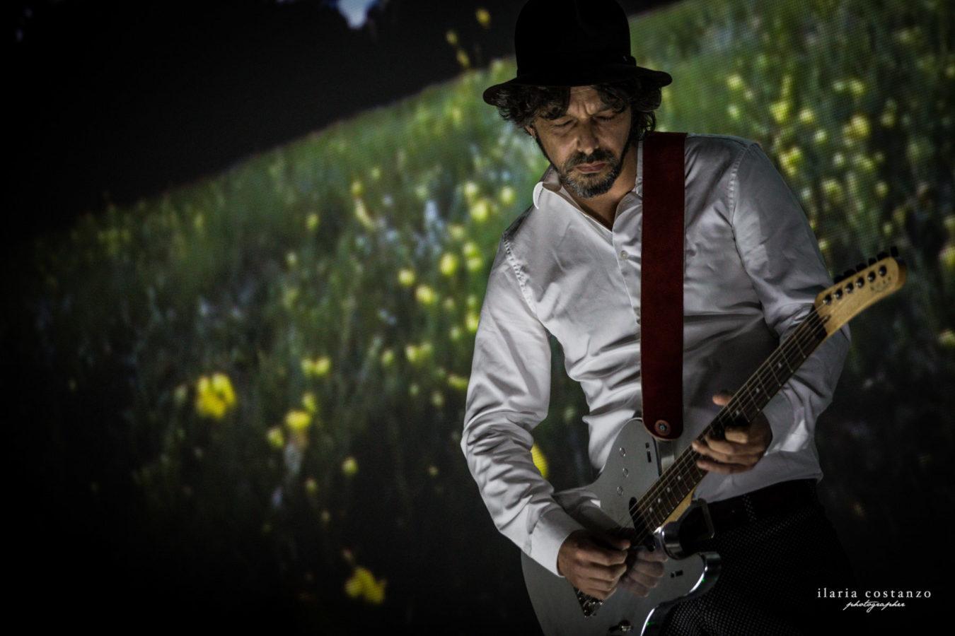 Riccardo Onori chitarra aumentata Tommaso Rosati